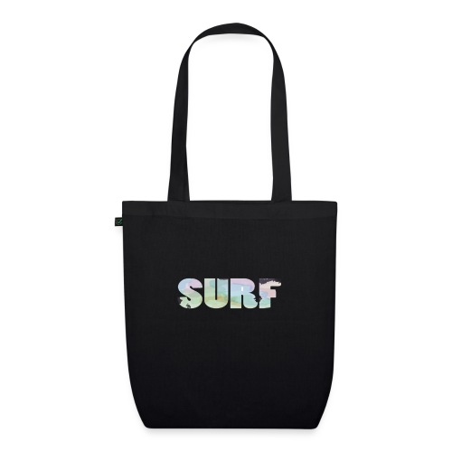 Surf summer beach T-shirt - EarthPositive Tote Bag