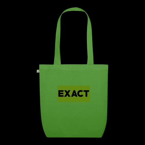 Exact Classic Green Logo - EarthPositive Tote Bag