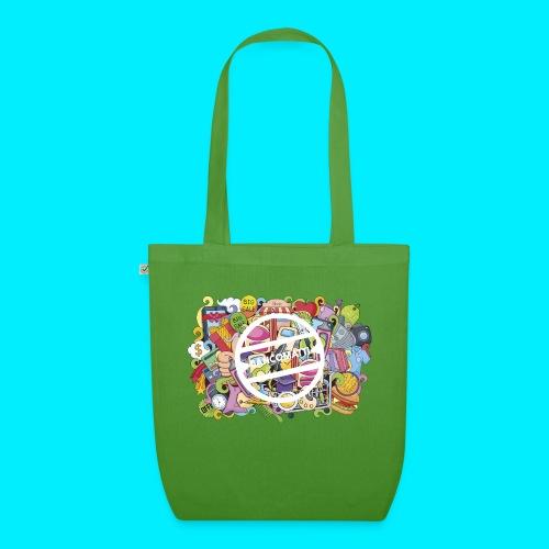 maglia logo doodle - Borsa ecologica in tessuto