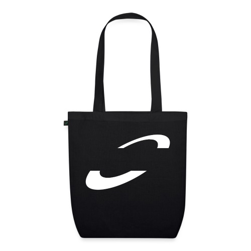 Planet Cycling Icon White - EarthPositive Tote Bag