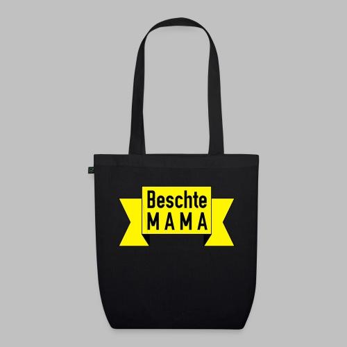 Beschte Mama - Auf Spruchband - Bio-Stoffbeutel