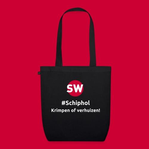 #Schiphol - krimpen of verhuizen! - Bio stoffen tas