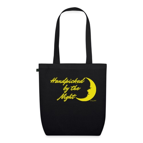Handpicked design By The Night - Logo Yellow - EarthPositive Tote Bag