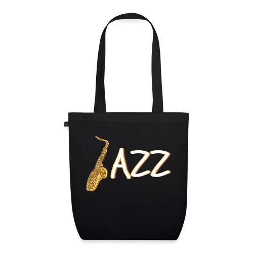 JAZZ Saxophon Saxofonist Shirt Geschenk - Bio-Stoffbeutel