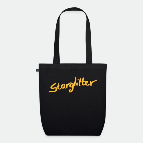 Starglitter - Lettering - EarthPositive Tote Bag