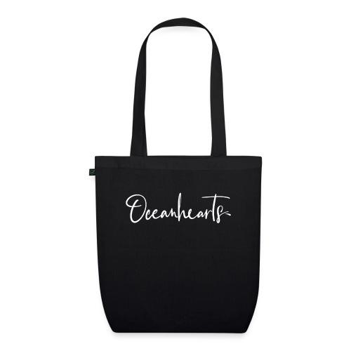 Oceanhearts Logo white - Bio-Stoffbeutel