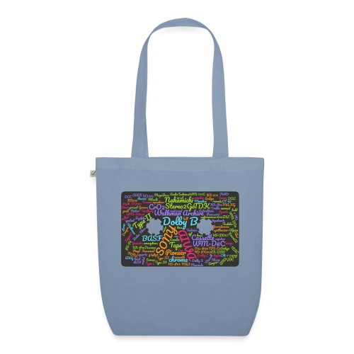 wordcloud Cassettes- WA - EarthPositive Tote Bag