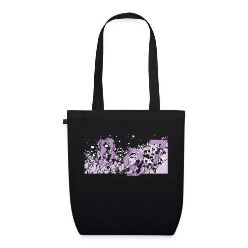 pink digital theme 897 - Ekologiczna torba materiałowa