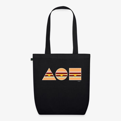 Graphic Burgers - Borsa ecologica in tessuto