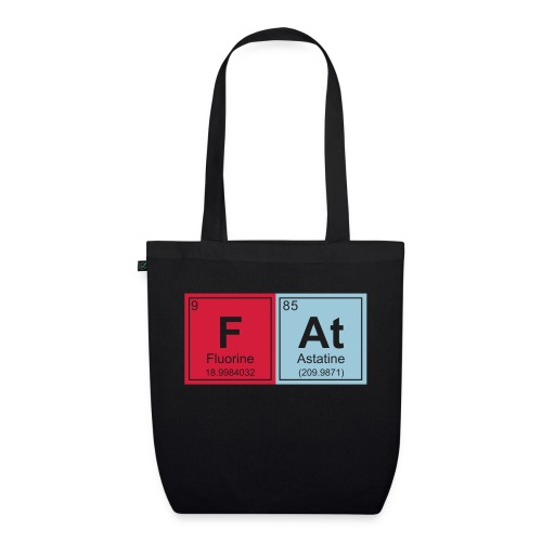 Geeky Fat Periodic Elements - EarthPositive Tote Bag