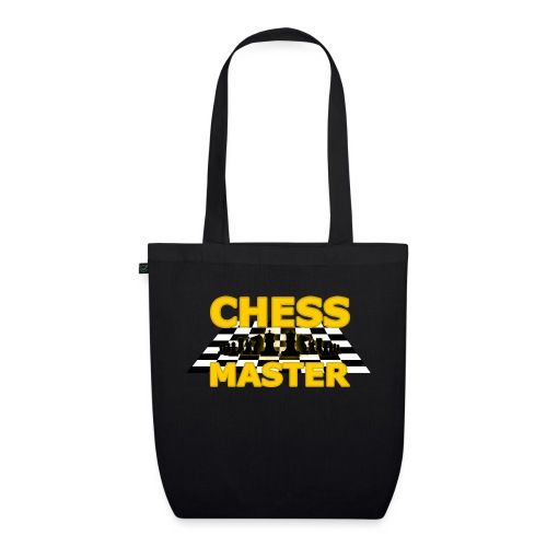 Chess Master - Black Version - By SBDesigns - EarthPositive Tote Bag