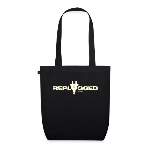 Replugged - Clip Art White - EarthPositive Tote Bag