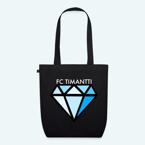 FCTimantti logo valkteksti futura - Luomu-kangaskassi