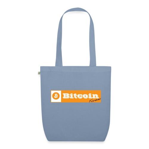 Bitcoin blanc - Sac en tissu biologique