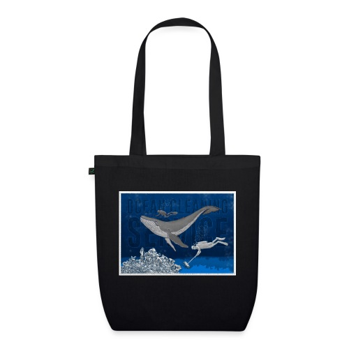 Ocean cleaning service. bluecontest - Øko-stoftaske
