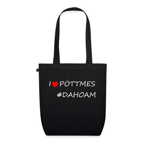 I ❤️ PÖTTMES #DAHOAM - Bio-Stoffbeutel