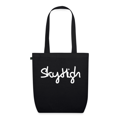 SkyHigh - Men's Premium Hoodie - White Lettering - EarthPositive Tote Bag