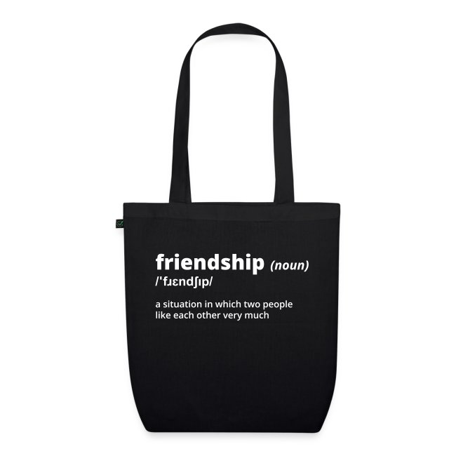 Friendship - Shirt (100% bio und fairtrade)