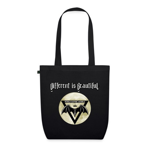 Different is Beautiful with Moon WGM Logo - EarthPositive Tote Bag