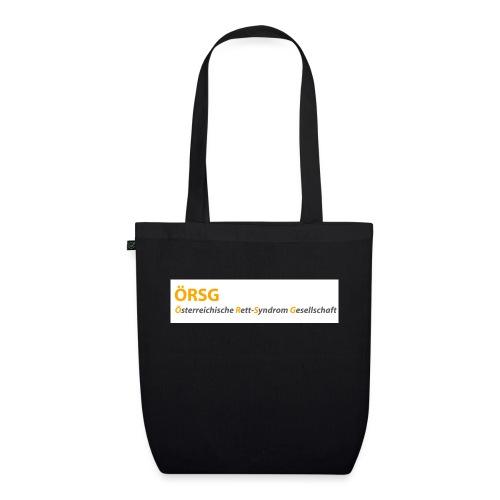 Text-Logo der ÖRSG - Rett Syndrom Österreich - Bio-Stoffbeutel