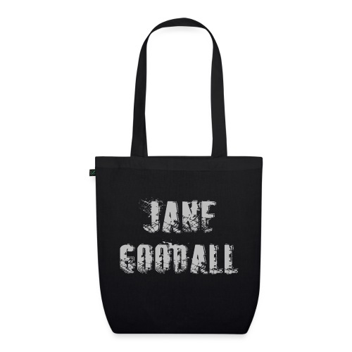 Jane Goodall design - Bio stoffen tas