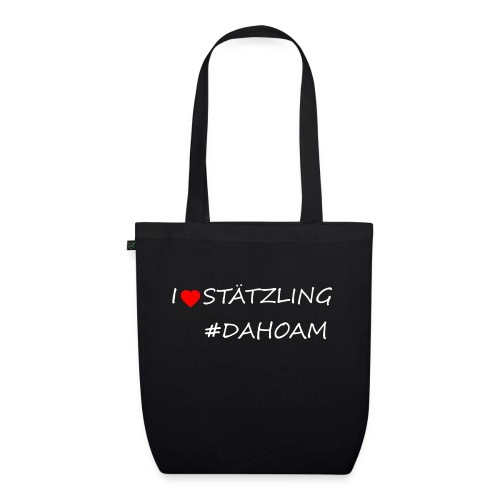 I ❤️ STÄTZLING #DAHOAM - Bio-Stoffbeutel