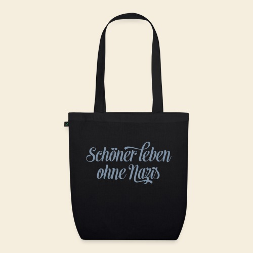 Live better without Nazis - EarthPositive Tote Bag