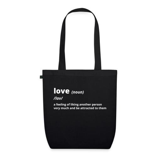 Love - Shirt (100% bio und fairtrade) - Bio-Stoffbeutel