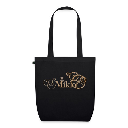 miklof logo gold outlined 3000px - EarthPositive Tote Bag