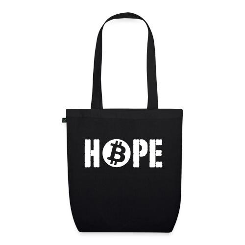 Black HOPE BTC - Sac en tissu biologique