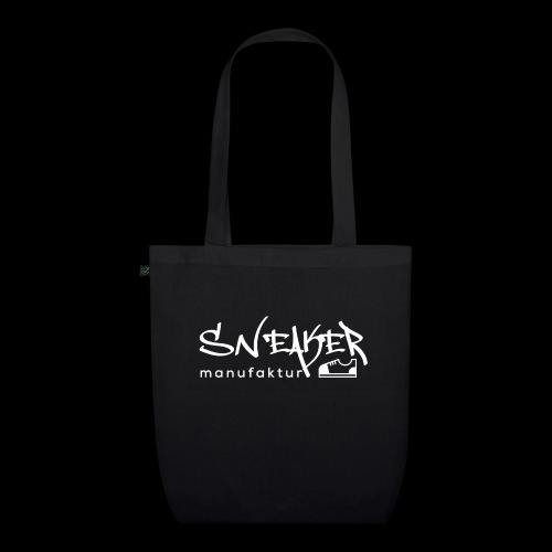 Sneakermanufaktur Linz - black edition - Bio-Stoffbeutel