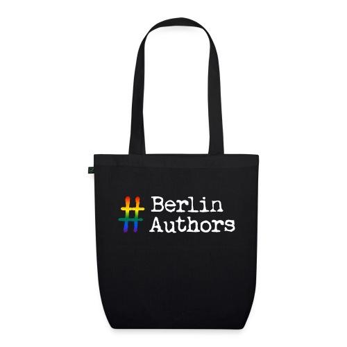 BerlinAuthors Logo Rainbow - Bio-Stoffbeutel