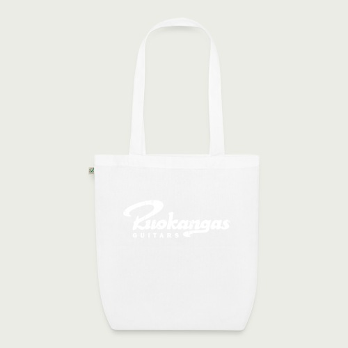 RuokangasGuitars white - EarthPositive Tote Bag