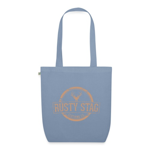 Rusty Stag Weathered Crest - EarthPositive Tote Bag