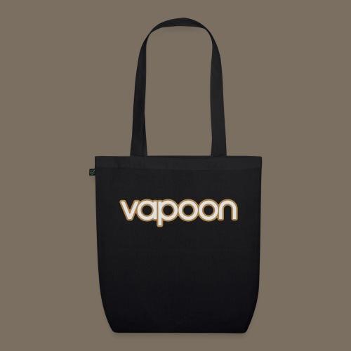 Vapoon Logo simpel 2 Farb - Bio-Stoffbeutel