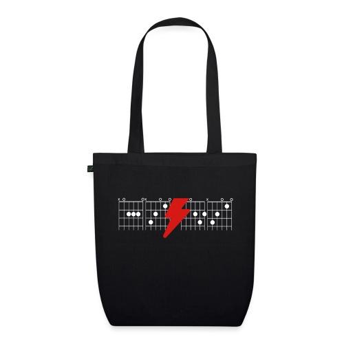 Rock Guitar Shirt - EarthPositive Tote Bag