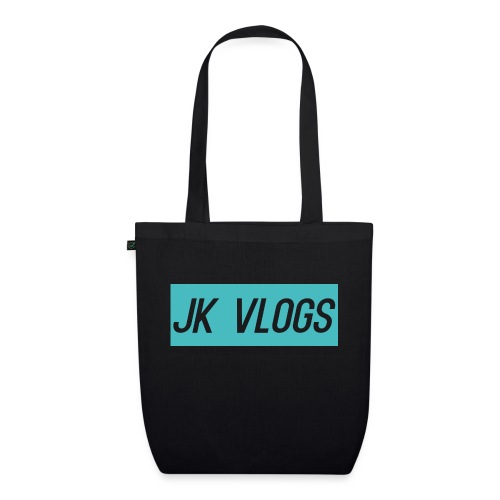 JK Vlogs Logo 2 - EarthPositive Tote Bag