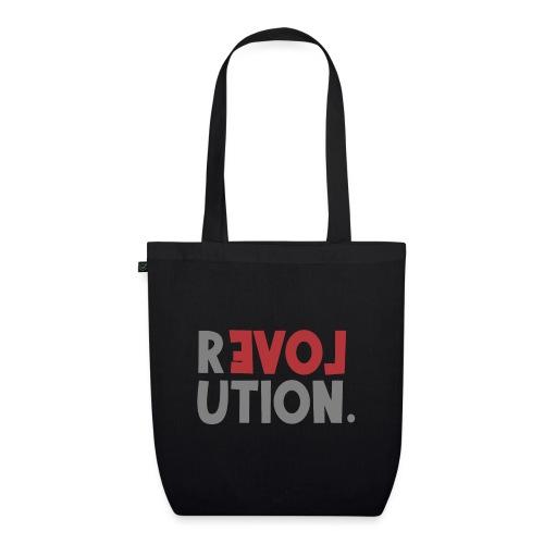 Revolution Love Sprüche Statement be different - Bio-Stoffbeutel