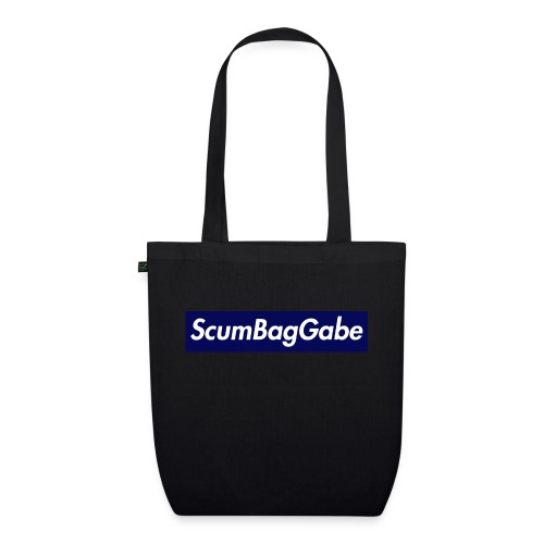 ScumBagGabe Blue XL Logo - EarthPositive Tote Bag