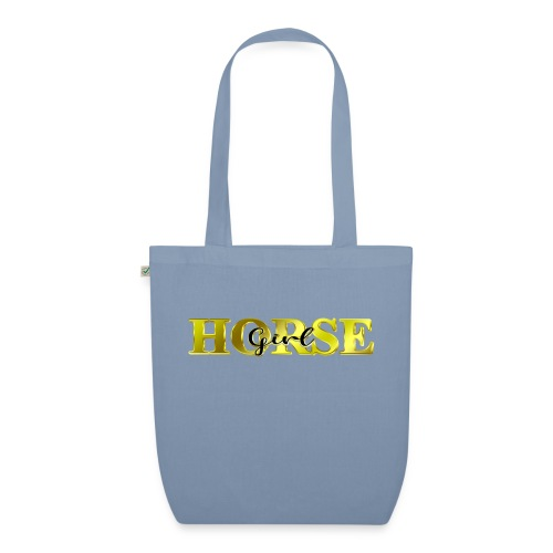 Horsegirl Reiten Pferde Geschenk - Bio-Stoffbeutel