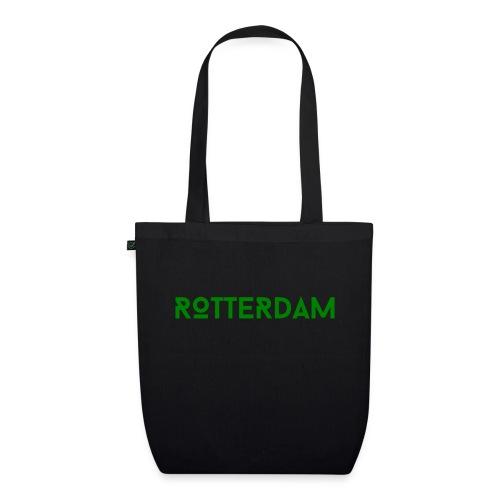 Rotterdam (Groen) - Bio stoffen tas