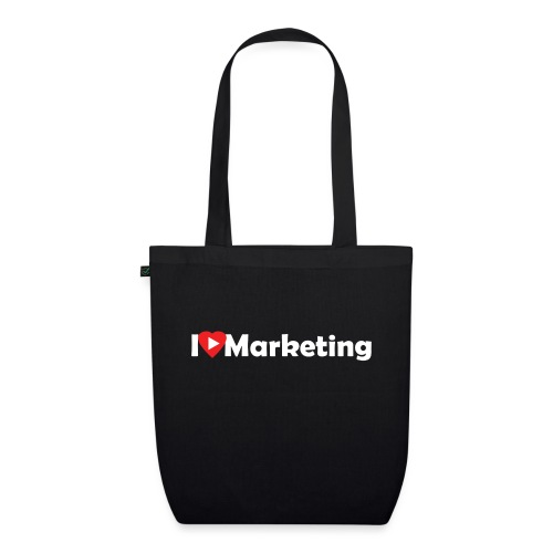 I love marketing - Sac en tissu biologique