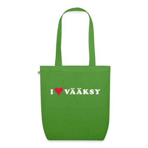 I LOVE VAAKSY - Luomu-kangaskassi
