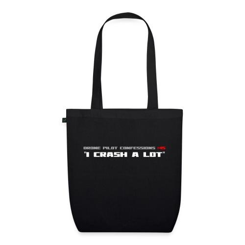 I CRASH A LOT - EarthPositive Tote Bag