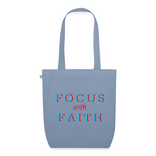 Focus with Faith - EarthPositive Tote Bag