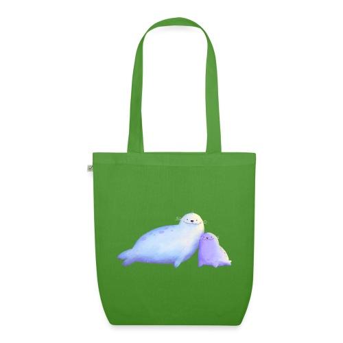Kleine Robben - Bio-Stoffbeutel