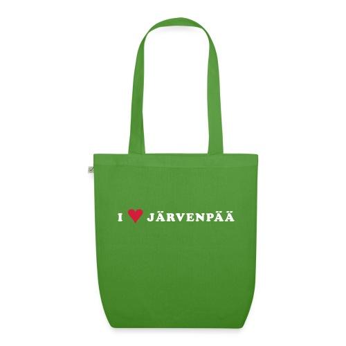 I LOVE JARVENPAA - Luomu-kangaskassi