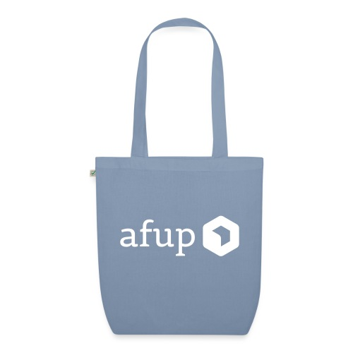 Le logo AFUP en blanc - Sac en tissu biologique
