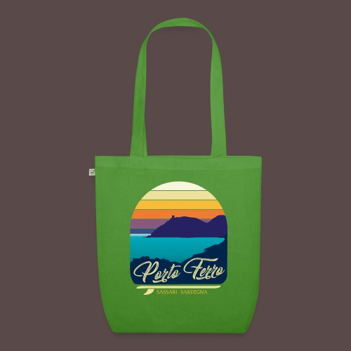 Porto Ferro - Vintage travel sunset - Borsa ecologica in tessuto