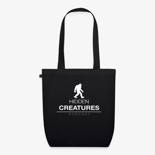 Hidden Creatures Logo White - EarthPositive Tote Bag